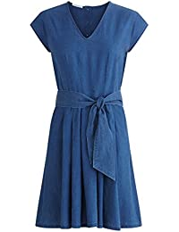 Promod Kleid aus Leinenmix