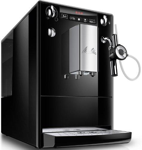 Melitta E 957-101 Kaffeevollautomat Caffeo Solo & Perfekt Milk mit Cappuccinatore, schwarz
