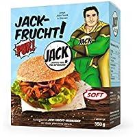 JACK-FRUCHT PUR!SOFT, Jackfrucht, junge Jackfrucht, Jackfruit, 350 g vakuumiert, (1 x 350 g Beutel)