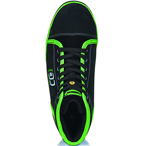 Scarpe Di Sicurezza Runnex S3 Sportstar Esd Sporty E Light Size 43, Nero, 5345
