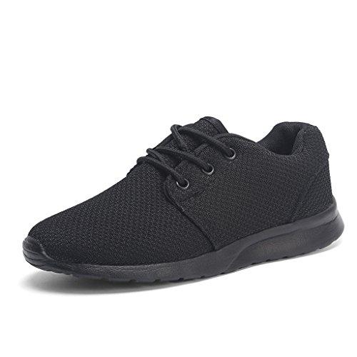 Hawkwell scarpe da sportive ginnastica running sneakers unisex bambino nero 33eu