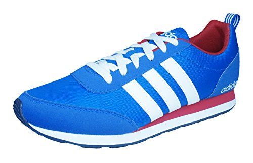 Adidas Neo V Run VS Herren Sneaker, Schuhgröße:EUR 42 2/3;Farbe:blau (Wanderschuhe Schuhe Vs)