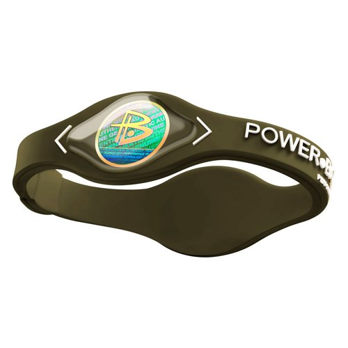Power Balance Silikon Wristband, cypress olive green/white, XS, IWSA09BR00WTYP (Xl Balance Power Armband)