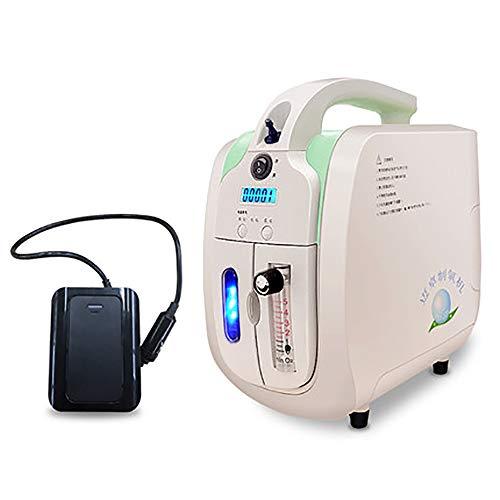 LLDKA Pequeña máquina oxígeno Coche Aire Libre