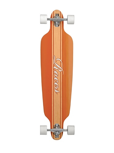 Roces Longboard Model 2 Natural Skateboard, Marrone