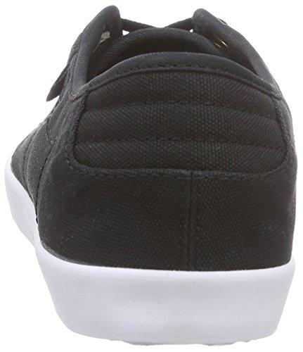 Reebok Nc Plimsole, Low-Top Sneaker femme noir (Black/Rbk Brass/White)