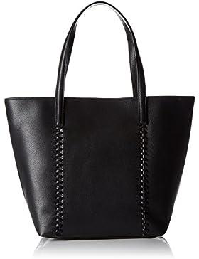 PIECES Damen Pcmary Shopper Henkeltasche, Schwarz (Black), 16 x 35 x 29 cm