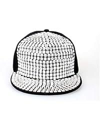 444947de675f8 Amazon.es  gorras planas - Plateado   Gorras de béisbol   Sombreros ...