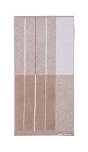 Tom Tailor Handtuch 2er-Drive off beige Größe 50x100 cm