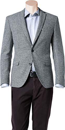 BOSS Hugo Herren Sakko Anzugjacke, Größe: 50, Farbe: Grau (Blazer Hugo Boss Herren)