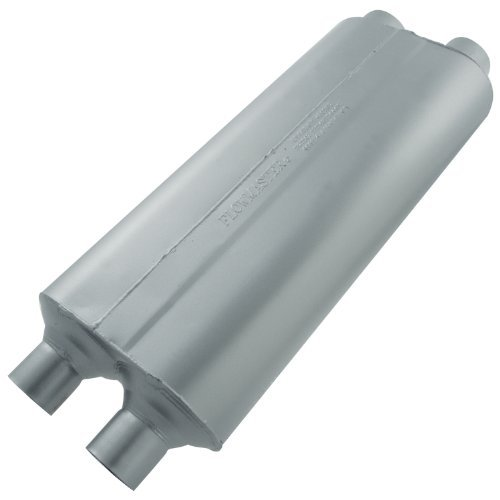 Flowmaster 524704 70 Series Muffler - 2.25 Dual IN / 2.25 Dual OUT - Mild Sound by Flowmaster