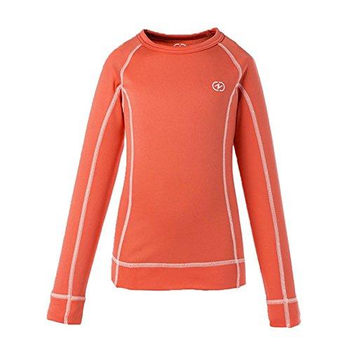 Damartsport Kinder 464690191 T-Shirt, Korallenrot, FR : XS (Taille Fabricant : 4 ans) | 03602808229361