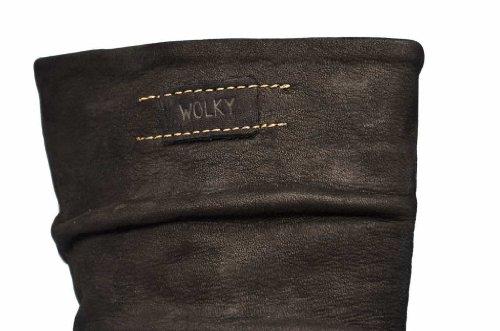 Wolky Halbhohe Stiefel 6267 Roll Jacky Schwarz