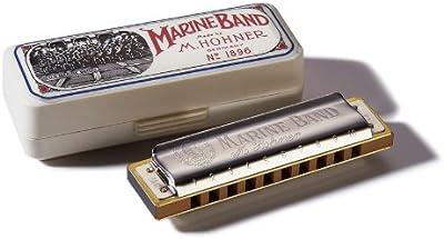 Hohner Marine Band - Armónica en clave de Re