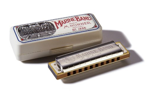 Hohner 1896BXC - Armónica en Do (acero inoxidable), color plateado