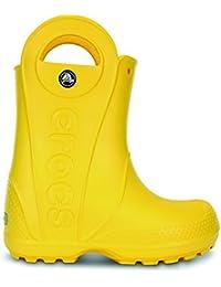 Crocs Unisex Kids' Handle It Wellington Boots, Grass Green