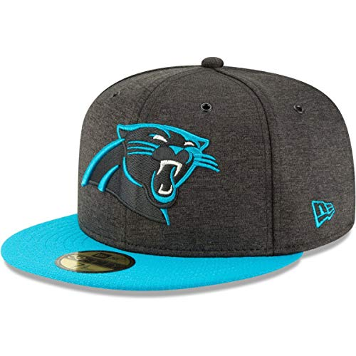 New Era NFL Carolina Panthers Authentic 2018 Sideline 59FIFTY Home Cap, Größe :7 5/8 (New Home Era Cap)
