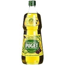 Puget Huile d'Olive Vierge Extra la Bouteille 1 Litre - Lot de 3