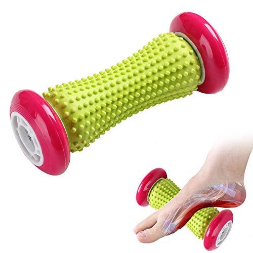 NOTENS Fußmassagegerät Fußroller, Kleine Faszien-Rolle Fuß Massage Roller Entlastung von Schmerzen und Verspannungen, Muscle Roller Stick (Rosa) -