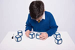 Learning Cube Dry Wipe Large Dice (One Supplied)