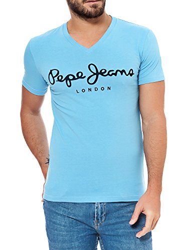 pepe-jeans-homme-stretch-v-t-shirtxl-blue