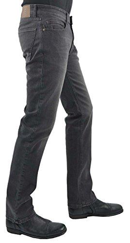 Hattric Herren Straight Jeans Grey
