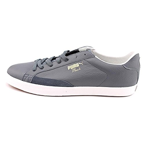 Puma Match Vulc Cuir Baskets Turbulence-Glacier Gray