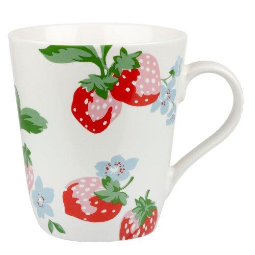 Cath Kidston Strawberry Stanley Mug, White