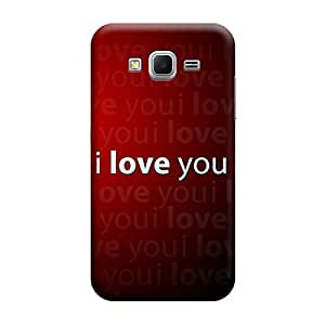 Digi Fashion Designer Back Cover with direct 3D sublimation printing for Samsung Galaxy Core Prime