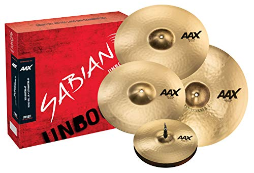 "SABIAN - 14\"" AAX Medium Hats, Brillant Finish"
