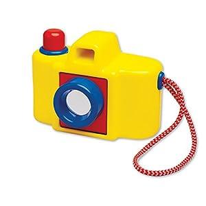 Ambi Toys- Cámara con Espejo en la Lente, Color Amarillo (31145)