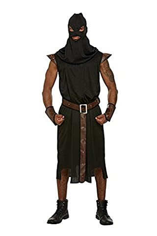 Adult Men's Historical Executioner Halloween Fancy Dress Party Costume Outfit