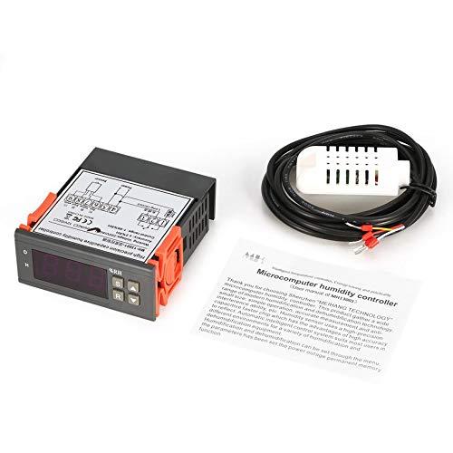 JICHUIO MTC1000A Digital Humidity Controller Hygrometer Dehumidify Switch Relay -