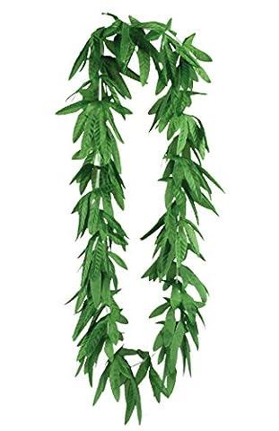 Hanf-Kette in grün | Einheitsgröße | Deko-Halskette-Hanf