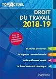Telecharger Livres Top Actuel Droit Du Travail 2018 2019 (PDF,EPUB,MOBI) gratuits en Francaise