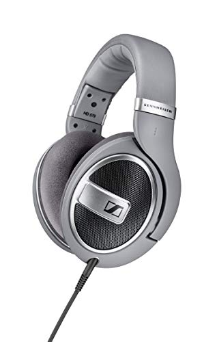 Sennheiser HD 579 Around-Ear Open Back Headphones - Grey