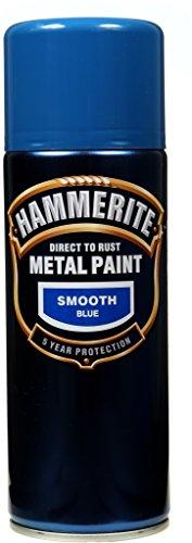 Hammerite Metallfarben-Glatt Blau 400 ml Aerosol
