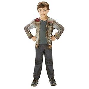 Star Wars - Disfraz de Finn Deluxe para niños, infantil talla 13-14 años (Rubie