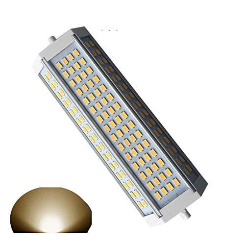 Basis Reflektor Flutlicht (Generic R7s LED dimmbar Leuchtmittel 50 W warmes Licht 3000 K Double Ended R7s LED Fluter 189 mm AC120V-AC230V 4700lm J189 L189*W55*H40mm für 750 W Halogen Ersatz Lampe)