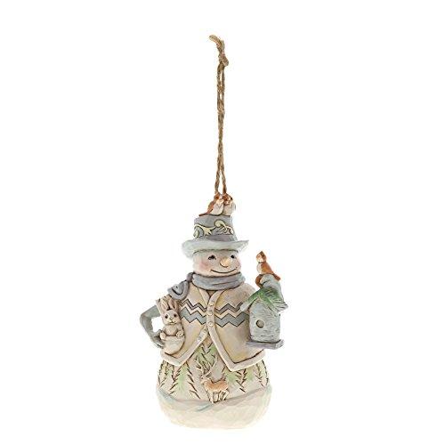 Heartwood Creek Woodland Snowman Hanging Ornament