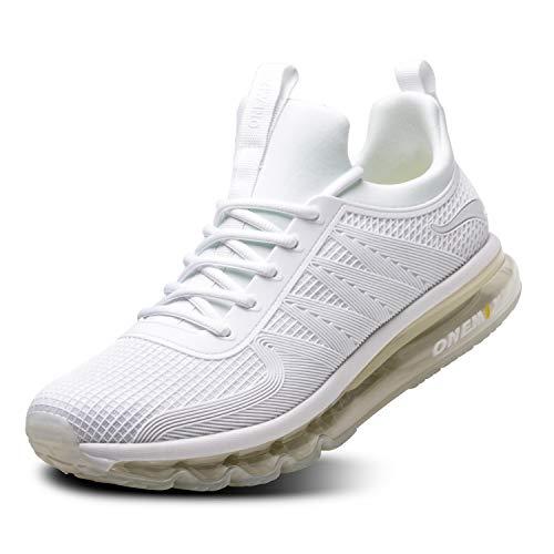 82be4bf06813 ONEMIX Scarpe da Ginnastica da Uomo Corsa Sportive Fitness Running Sneakers  Basse Interior Casual all'