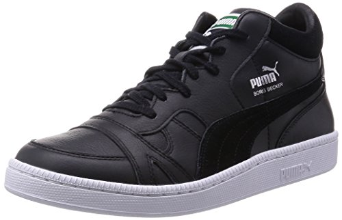 Puma Becker Mid, Sneakers Hautes homme Noir (Black/Black)