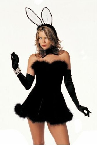 ostüm- Kleid Mädchen Rollenspiel- Katze Plüsch Hase Kostüm-Parteiuniformen (Zauberer Und Hase Halloween Kostüm)