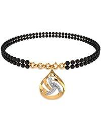 P.N.Gadgil Jewellers 18KT Yellow Gold And Diamond Bracelet For Women
