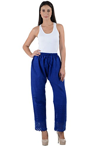 NumBrave Women\'s Cutted bottom Cotton Trouser