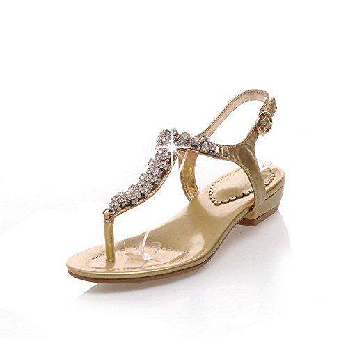 Adee , Damen Sandalen Gold