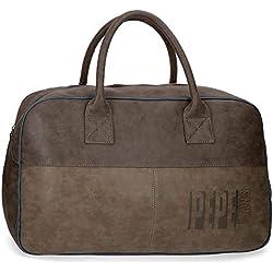 Pepe Jeans Max Bolsa de viaje, 50 cm, 30.4 litros, Marrón