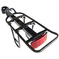 BDBikes TM - Portaoggetti a rilascio rapido, per installazione sulla parte posteriore della bicicletta, rack per
