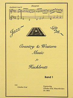 JAZZ POP COUNTRY & WESTERN 1 - arrangiert für Hackbrett [Noten / Sheetmusic]