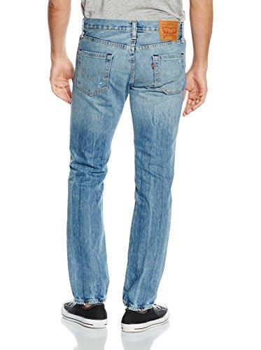 Levi's Herren 511 Slim Fit ritten Jeans, Blau Blau